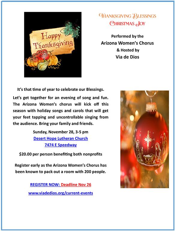 4 8x10 Nov 28 Flyer AZ Women's Chorus